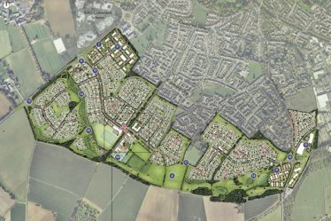 Chesterton SUPER development Masterplan